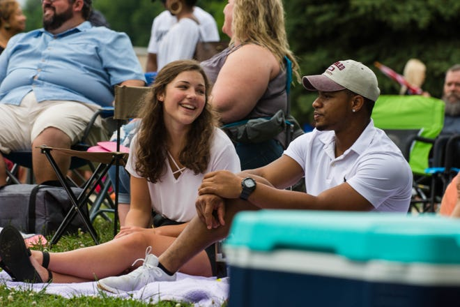 Hundreds of people turned up for Jazz on the Lawn at Beachaven Winery  and Vineyards on Saturday, June 8, 2019.