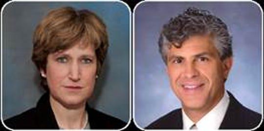 Drs. Deborah F. Rosin, M.D. and Carl A. Mazzara, M.D.