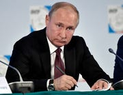 Russian President Vladimir Putin. The House Intelligence Committee on Wednesday intends to review the counterintelligence implications of Russian meddling in the 2016 election. Mueller said there was not enough evidence to establish a conspiracy between the Trump campaign and Russia, but he said he could not exonerate Trump on obstruction.