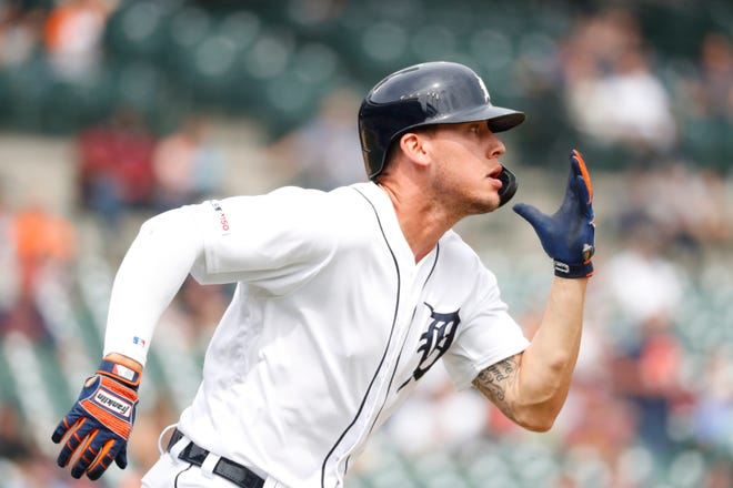 Detroit Tigers' JaCoby Jones (back spasms) will likely be going on a rehab assignment to Toledo.