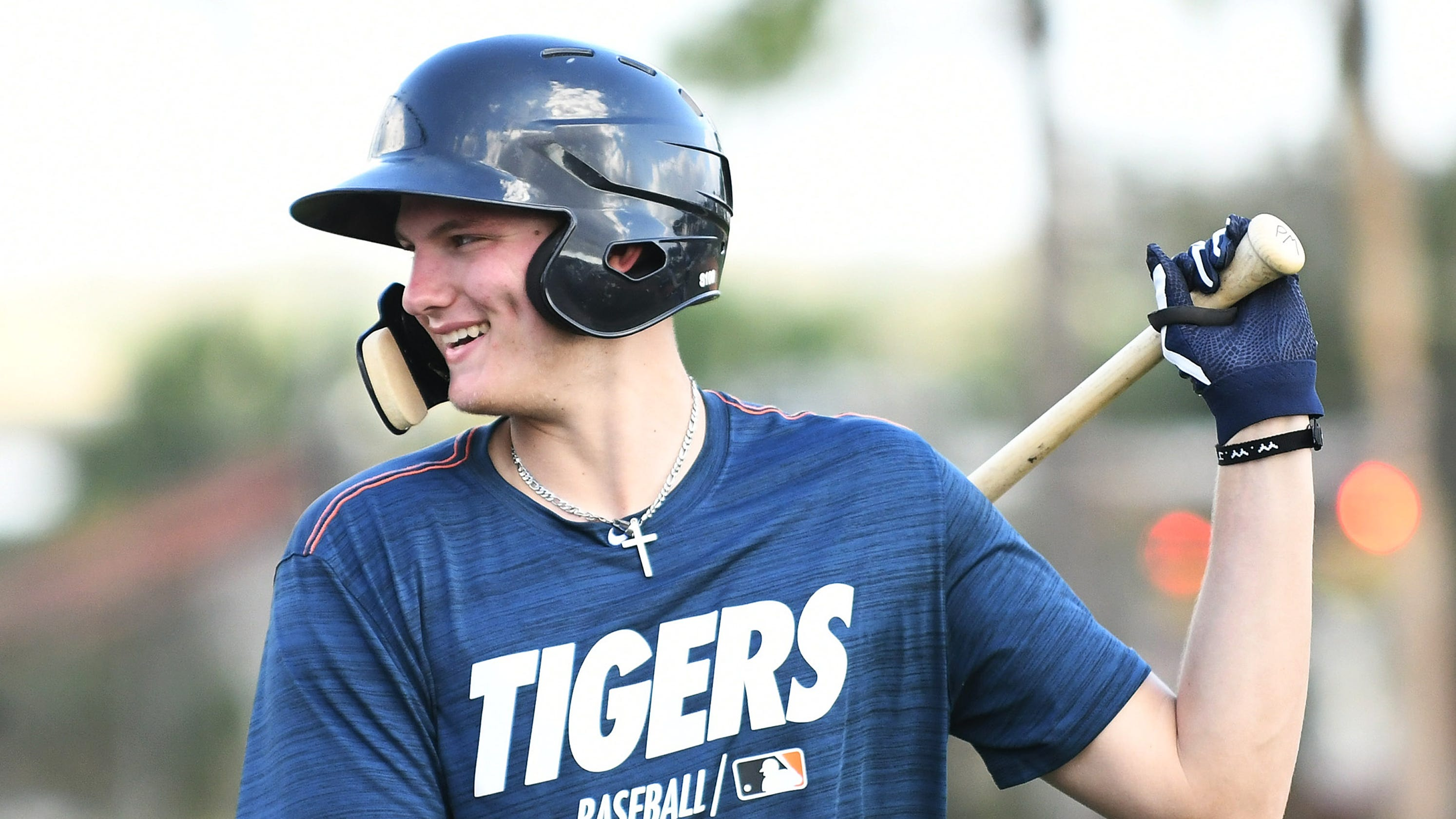 Tigers practice patience as '18 picks Parker Meadows, Kingston Liniak learn the ropes