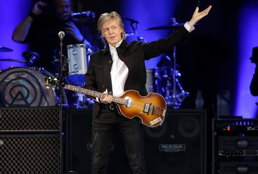 Paul McCartney delivers unforgettable night, Beatlemania at
