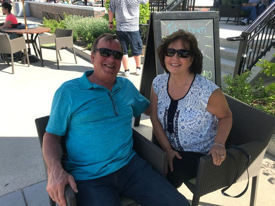 Joe and Mary Weimer received their concert tickets as a Christmas present from their kids.