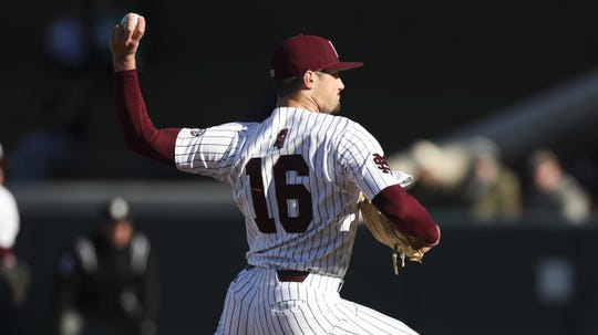 "Mississippi state junior pitcher Jack Eagan left Saturday's game against Stanford after suffering a ""non-athletic medical event,"" according to Mississippi State Athletics."