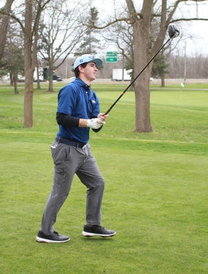 Hartland's Bryce Brief tied for sixth place in the state Division 1 golf tournament, leading the Eagles to a fifth-place team finish.
