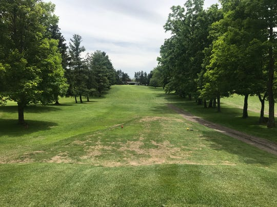 Hole No. 2 at Twin Lakes Golf Course is a 272-yard Par 4 with a tight fairway.