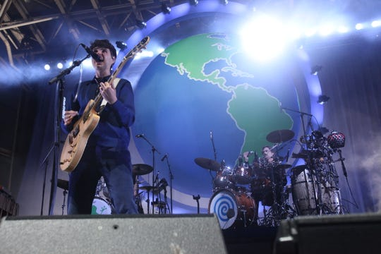 "Vampire Weekend brought their ""Father of the Bride"" tour to the BMO Harris Pavilion at Maier Festival Park on June 8, 2019."