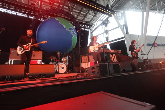 Chicano Batman opens for Vampire Weekend at the BMO Harris Pavilion on June 8, 2019.