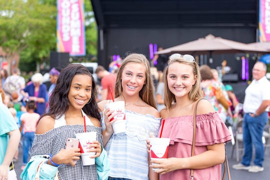The bustling The Shoppes at EastChase will be even busier each Thursday night in June when local bands will be playing during the annual 'Sounds of Summer.' Hundreds of people enjoy the appearances which start at 7 p.m. There is no admission charge.