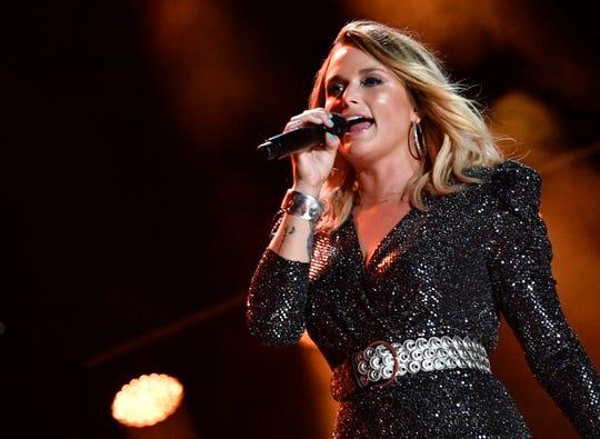Miranda Lambert performs during the 2019 CMA Fest Saturday, June 8, 2019, at Nissan Stadium in Nashville, Tenn.