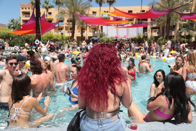 Splash House has been a game-changer for June and August tourism in the Coachella Valley. The three-day electronic music event is held poolside at the Saguaro, Renaissance and Riviera in Palm Springs during the day and then moves to the Palm Springs Air Museum for two nights in June and August.