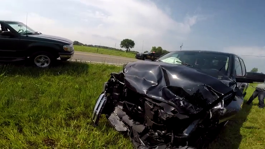 Body cams show sheriff's office did not cancel life flights at crash