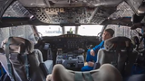Rich Henning, a flight director on board a National Oceanic and Atmospheric Administration Hurricane Hunter aircraft has flown through 249 hurricanes.
