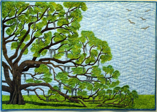 """Our Live Oak in Spring"" by Marsha Walper."