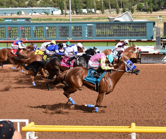 Fernweh, the No. 9 horse won the Grade 1, $1 million Ruidoso Futurity on Sunday.