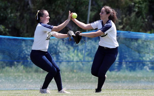 Walter Panas defeated Minisink Valley 2-0 in the softball regional final at Rhinebeck High School June 8,  2019.