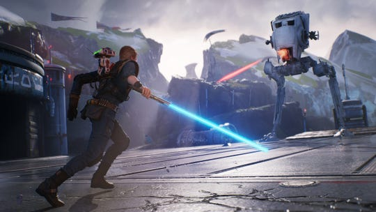 In 'Star Wars Jedi: Fallen Order,' the Jedi Padawan Cal Kestis is forced into action against the Empire.