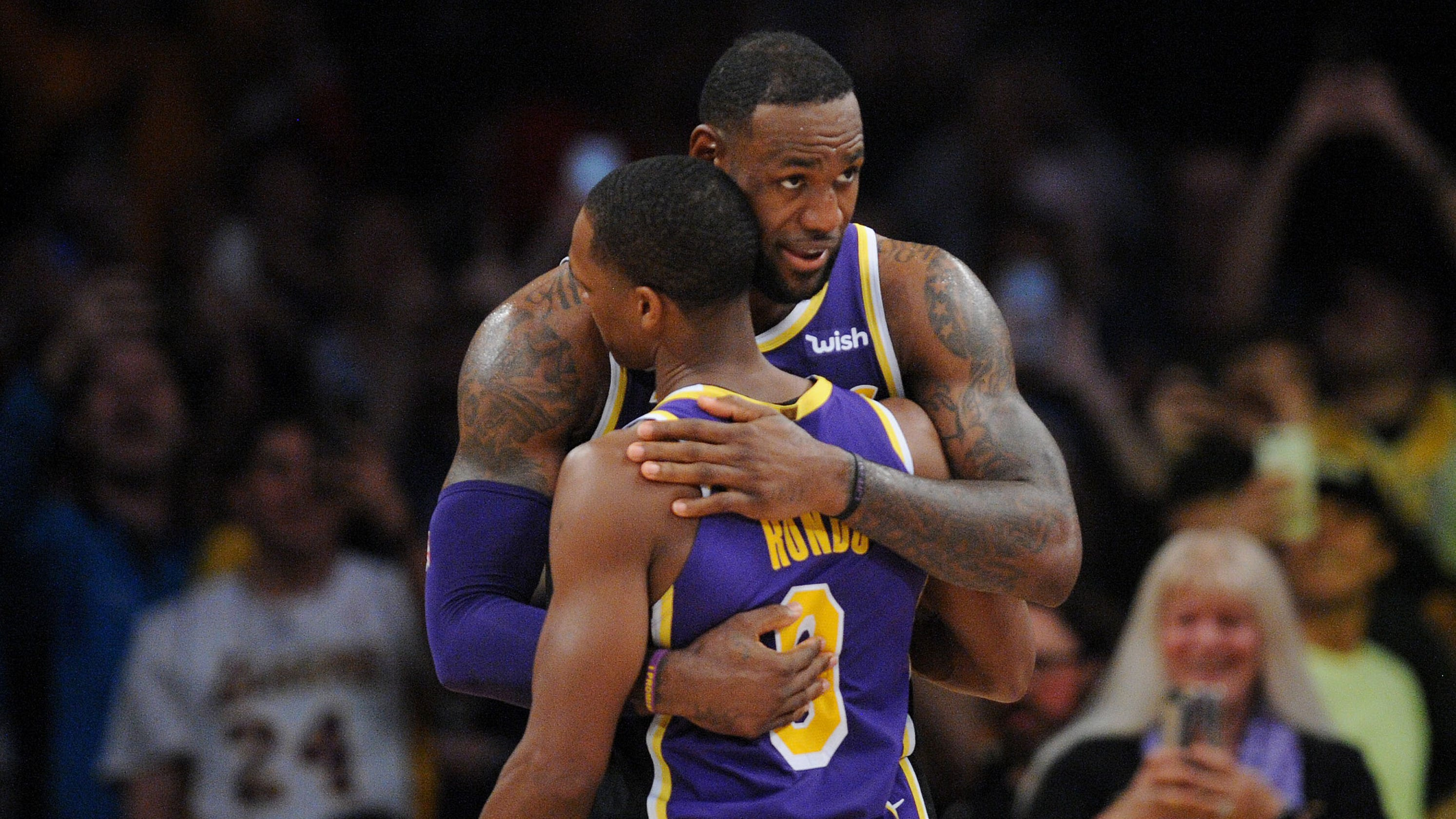 Lakers: Rajon Rondo opens up on how Anthony Davis rumors