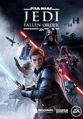 Box art for the upcoming video game 'Star Wars Jedi: Fallen Order,' due out November 15, 2019, for Xbox One, PlayStation 4, and PC.