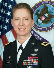 U.S. Army Brig. Gen. Laura L. Yeager.