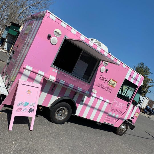 The Lexylicious ice cream truck specializes in creative ice cream sandwiches.