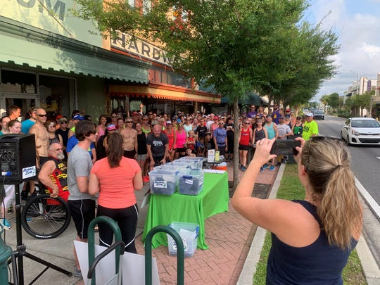 More than 130 runners and walkers signed in for last week's Summer Running & Brewery Tour at Playalinda Brewing Company in downtown Titusville. This week's fun run will be at Quarters Brewery & Arcade in downtown Melbourne.