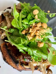 The wild mushroom bruschetta is reason alone to dine at Ember & Oak: a model of fungal magnificence.