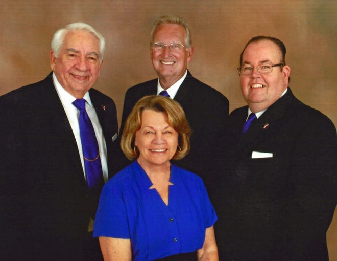 "Jim Valdez, Bob Fleming, Tim Harris and Millie Smith, the members of the Space Coast Gospel Quartet, will lead gospel and traditional hymns during the ""Summer Community Hymn Sing"" at Riverside Presbyterian Church in Cocoa Beach on Sunday, June 23. Four such events are scheduled for the summer."