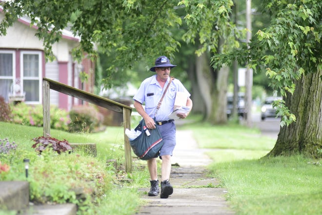 """""""You get used to it,"""" said Mitch Schifer as he remembered some of the worst weather he's experienced in his two decades as a postal worker in Galion. He's been through blizzards, and once was nearly struck by a falling tree limb. His most recent close encounter was last week's EF0 tornado that went through town. """"I had just gotten down when the siren went off."""""""