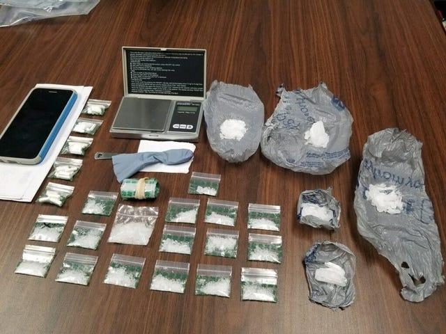 Kingsville police seize crystal meth, Xanax pills in raid
