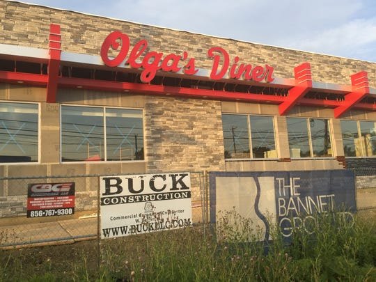 Olga's Diner is under construction on Route 73 in Evesham.