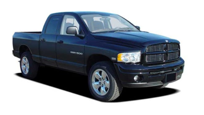 The Hamilton County Sheriff's Office said the vehicle that hit a pedestrian in Anderson Township Sunday was possibly driving a 2004 to 2009 black, Dodge Ram 1500 pickup truck.