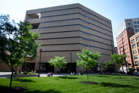 The Hamilton County Justice Center in Downtown Cincinnati was built in 1985 at a cost of $54 million dollars, according to the jail's website. Major Chris Ketteman, with the sheriff's department, is responsible for the daily operations of the jail. The prisoner count for both men and women ranges from 1,300-1,400 daily. The jail also houses a recovery pod for women battling drug addiction and offers medication-assisted treatment within the jail. There is no recovery pod for men.