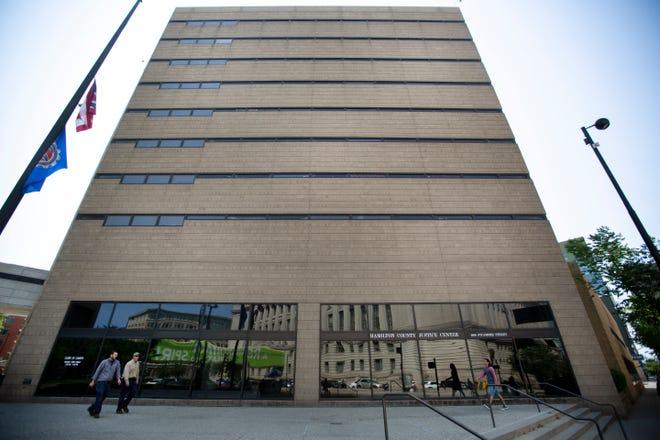 The Hamilton County Justice Center in Downtown Cincinnati.