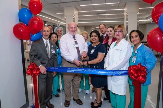 The ribbon cutting ceremony for the new Same Day Surgery at Robert Wood Johnson University Hospital Somerset.