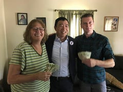 Meet the Iowa Falls family Andrew Yang is pledging to give $1,000 a month for the next 12 months