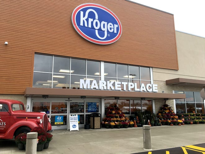 Most Kroger stores in Michigan will begin offering cannabidiol-infused topical products this week.