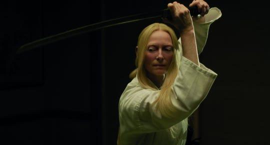 """Tilda Swinton in """"The Dead Don't Die."""""""