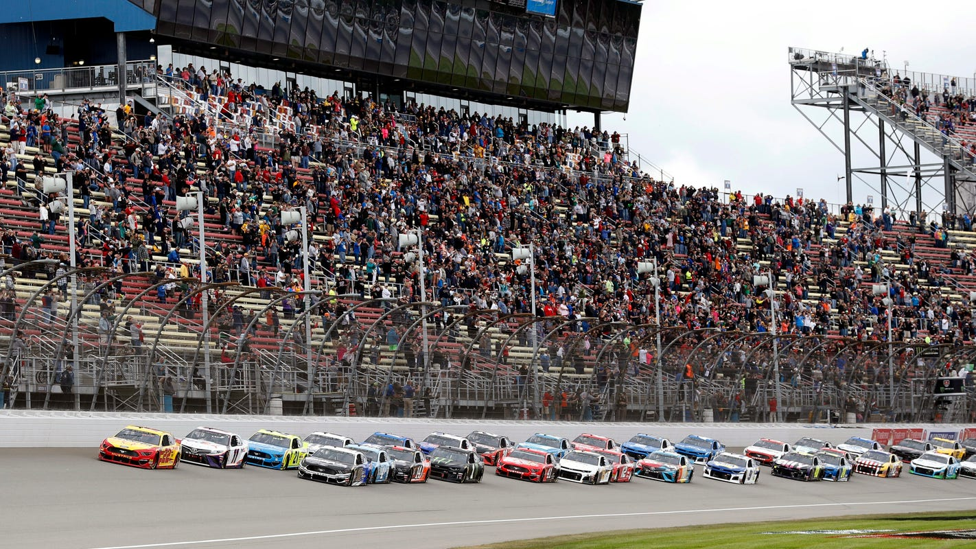FireKeepers Casino 400 at Michigan International Speedway: Live updates