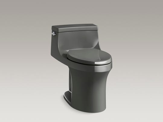 Comfort height toilets allow users of different ages and abilities to use the bathroom with ease. (Kohler)