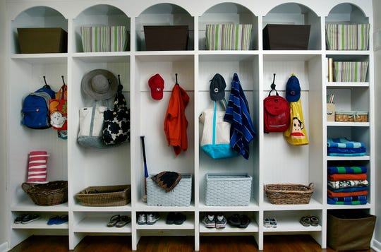 Mudrooms are a great way to keep family clutter in order.