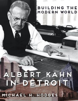 """Building the Modern World: Albert Kahn in Detroit"" by Michael H. Hodges won First Place for Biography in the Midwest Book Awards."