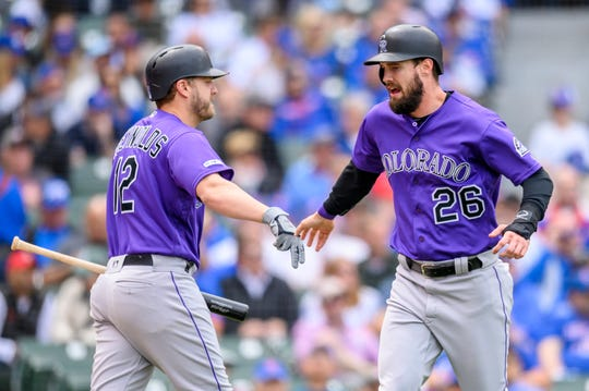 The Colorado Rockies host the Chicago Cubs at 6:40 p.m. Tuesday.