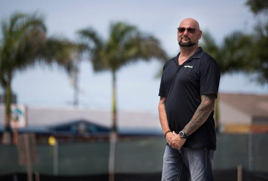 George Lukas, owner of Ceno Grille, plans to celebrate the groundbreaking of a new, four-story steakhouse and skybar at 1415 Cape Coral Parkway, not far across the Cape Coral Bridge from Fort Myers and adjacent to Big John's Plaza.