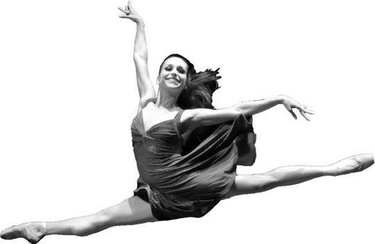 Professional dancer Carla Amancio of Dance Alive.