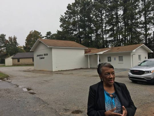 Fairfield County Councilwoman Bertha Goins has been dissatisfied with the Jenkinsville Water Co.