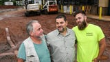Three generations love working construction together in Anderson County
