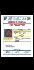 A wanted person poster for Jeffrey Norita Lizama