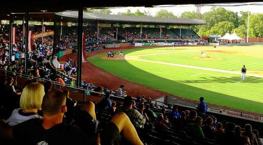 Evansville's historic Bosse Field.