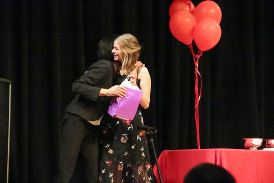 The Ithaca Public Education Initiative and Ithaca High School presented awards last week to students and teachers during the underclass and senior award ceremonies on June 4 and 6.